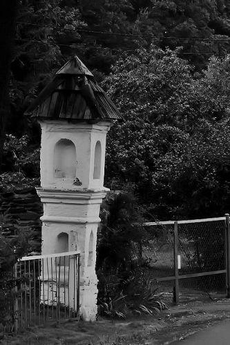 Zdjęcia: Pokrzywna, Góry Opawskie, kapliczka, POLSKA