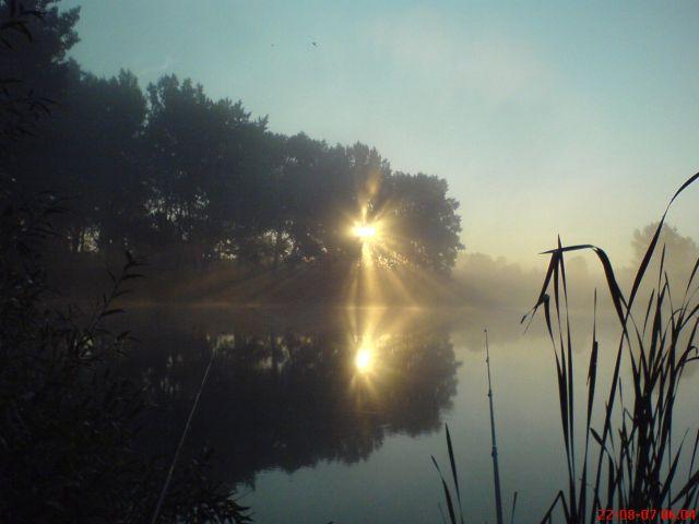 Zdjęcia: Bartoszyce, Mazury, Poranek nad mazurkim jeziorem, POLSKA