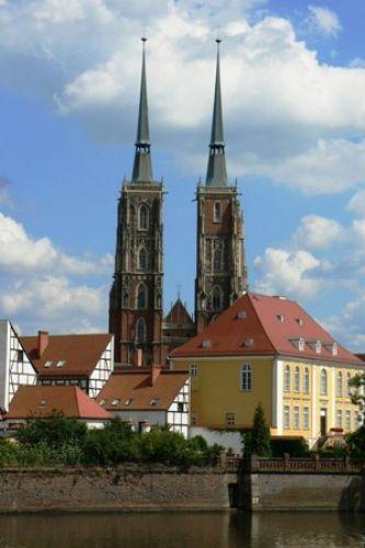 Zdjęcia: Ostrów Tumski, Wrocław, Katedra Św. Jana Chrzciciela, POLSKA
