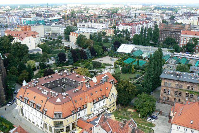 Zdjęcia: Ostrów Tumski, Wrocław, Widok z wieży Katedry Św. Jana Chrzciciela, POLSKA