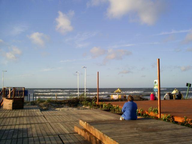 Zdjęcia: Ustka, widok na morze, POLSKA