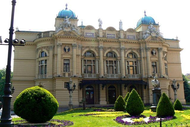 Zdjęcia: Kraków, Małopolska, Teatr im. J. Słowackiego, POLSKA