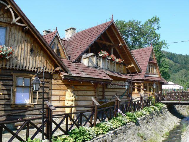 Zdjęcia: Szczyrk-centrum, Beskid Śląski, Na ludowo, POLSKA