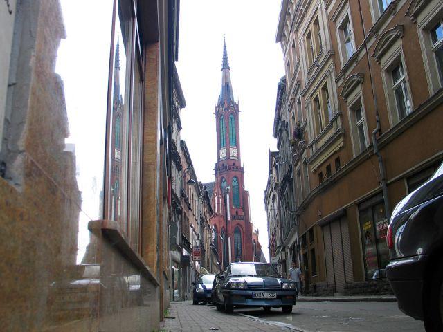 Zdjęcia: Wałbrzych, Kościół Aniołów Stróżów, POLSKA