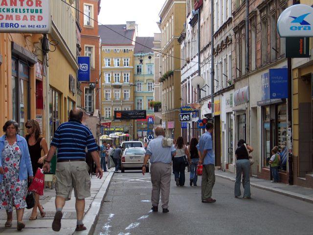 Zdjęcia: Wałbrzych,  ul. gdańska - okolice rynku, POLSKA