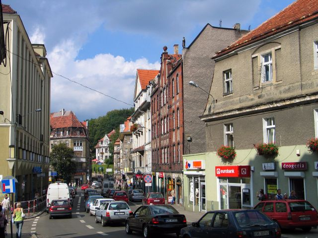 Zdj�cia: Wa�brzych, Plac Grunwaldzki, POLSKA