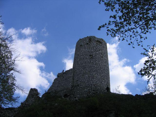 Zdjęcia: Dolina Wodącej, Jura Krakowsko-Częstochowska, Ruiny zamku Smoleń, POLSKA