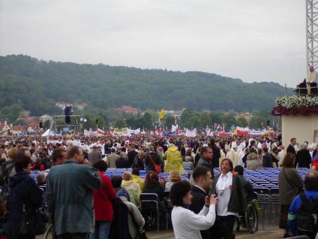 Zdj�cia: Krak�w, ma�opolska, Papie� w Krakowie, POLSKA