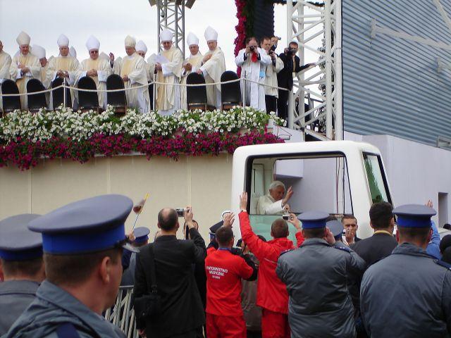 Zdjęcia: Kraków, małopolska, Papież w Krakowie, POLSKA