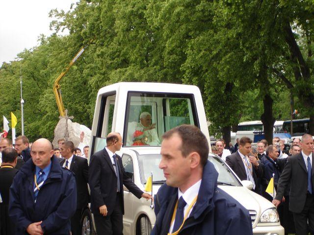 Zdjęcia: Kraków, małopolska, Papież w Krakowie , POLSKA