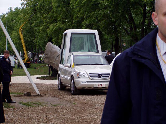Zdjęcia: Kraków, małopolska, Papież w Krakowie- PapaMobile, POLSKA