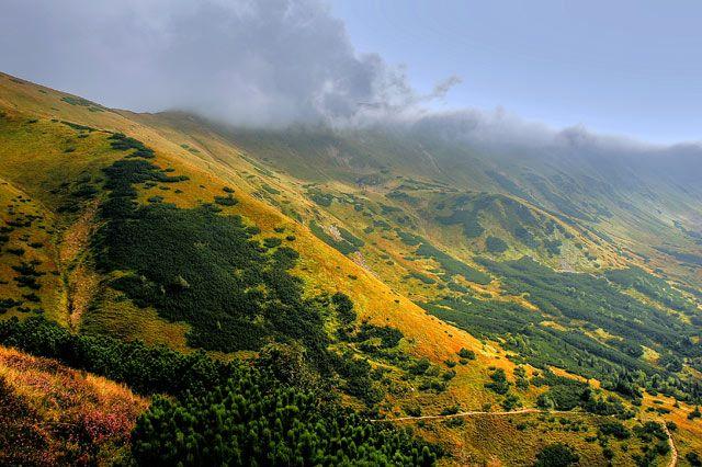 Zdjęcia: szlak na Trzydniowiański Wierch, Tatry, Tatry, POLSKA