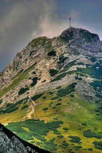 Zdjęcia: widok na Giewont, Tatry, widok na Giewont, POLSKA