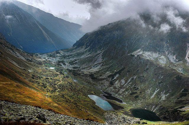 Zdj�cia: widok z Ko�czystego Wierchu, Tatry, widok z Ko�czystego Wierchu, POLSKA