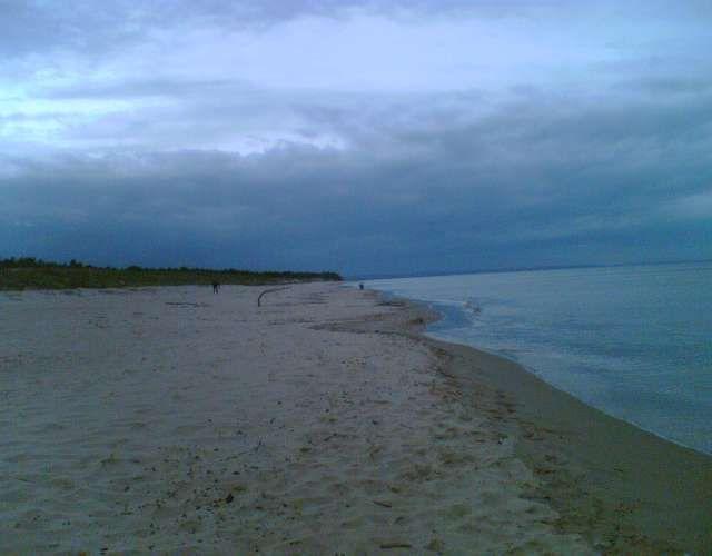 Zdjęcia: Sobieszewo, ,,wczesny wiczór na plaży,,, POLSKA