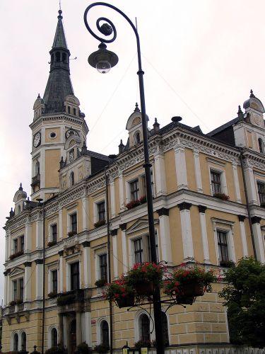 Zdj�cia: L�dek Zdr�j, Ratusz, POLSKA
