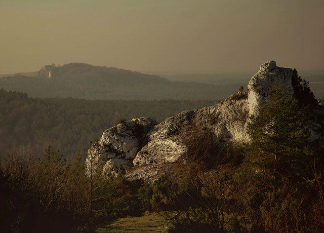 Zdjęcia: widok z Gory Zborow, Jura Krakowsko Częstochowska, ..., POLSKA