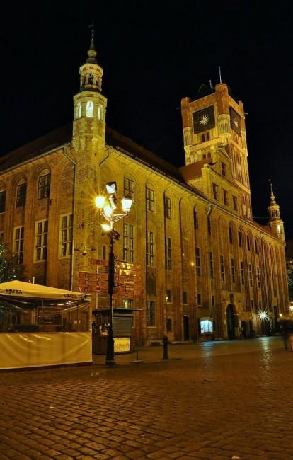 Zdjęcia: Toruń, Kujawsko-Pomorskie, Toruń nocą, POLSKA