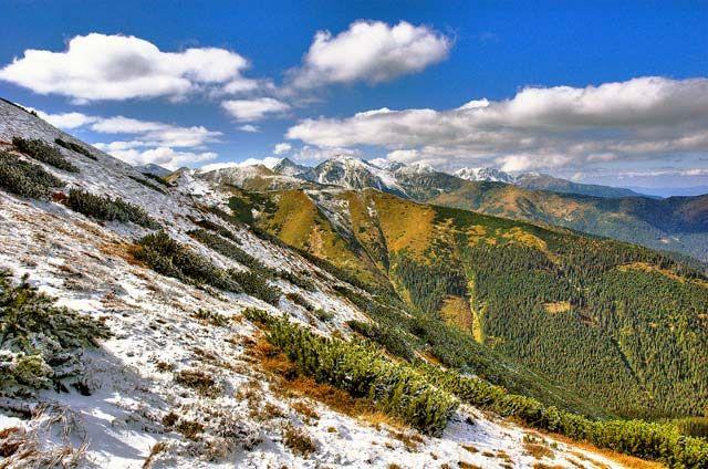 Zdjęcia: Widok z ornaki, Tatry, troszke zimy latem, POLSKA