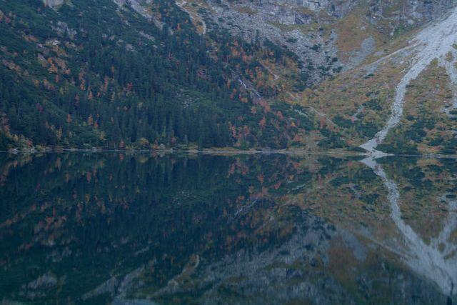 Zdjęcia: Tatry, Morskie Oko Jesienią, POLSKA