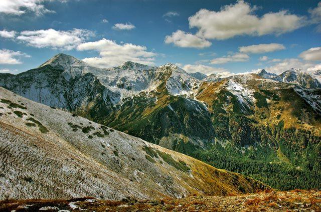 Zdj�cia: widok z Ornaku, Tatry, Tatry, POLSKA