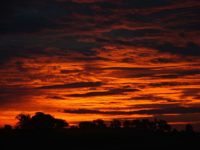 Zdjęcia: DĘBOWIEC, ŚLĄSK, wschód słońca, POLSKA