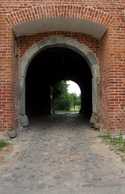 Zdjęcia: Bierzgłowo, Kujawsko-Pomorskie, Bierzgłowo, zamek Krzyżacki, POLSKA