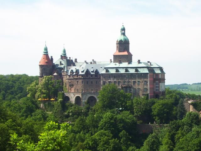 Zdjęcia: Wałbrzych, Pogórze Wałbrzyskie, Zamek Książ, POLSKA
