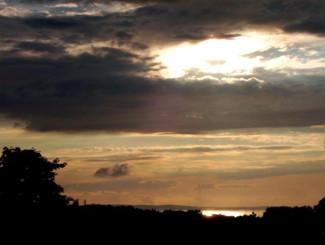 Zdjęcia: Międzyzdroje - okolice, Wyspa Wolin, Zachód Słońca, POLSKA