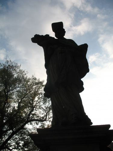 Zdjęcia: KLODZKO, ZIEMIA KŁODZKA, RZEŻBA NA MOŚCIE II, POLSKA