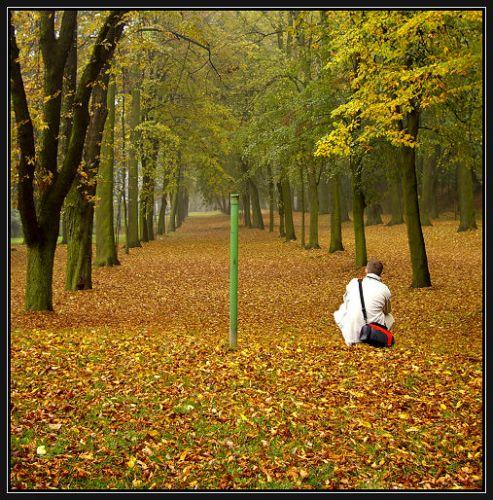 Zdjęcia: Góra Świętej Anny, Ślask Opolski, jesienna zaduma, POLSKA