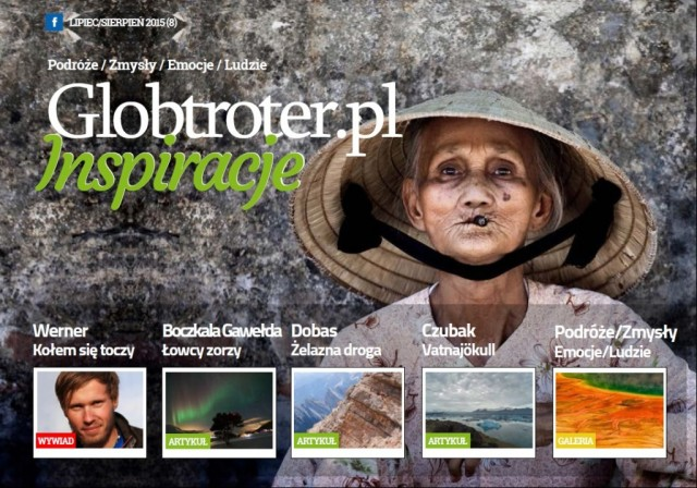 Zdjęcia: ---, ---, Magazyn Globtroter.pl Inspiracje nr 8, POLSKA