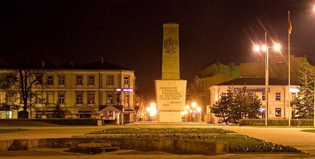 Zdj�cia: W�oc�awek, kujawy, Plac Wolno�ci, POLSKA