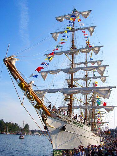 Zdjęcia: Szczecin, Pomorze Zachodnie, The Tall Ships' Races 1, POLSKA