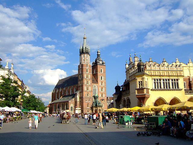 Zdjęcia: Kraków, małopolska, krakowski rynek, POLSKA