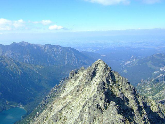 Zdjęcia: Tatry, tatry, Widok ze szczytu Rysy, POLSKA