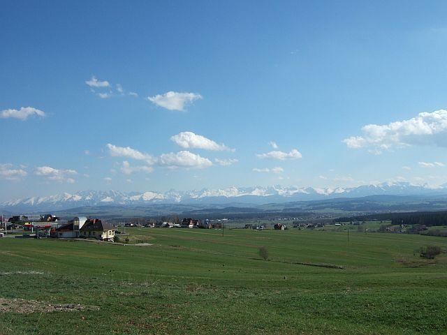 Zdjęcia: Podhale, Polska, Tatry z okolic Nowego Targu , POLSKA