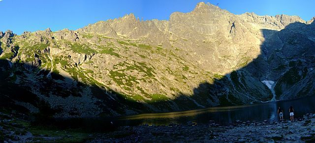 Zdj�cia: Tatry wysokie, tatry, panorama na Rysy, Ni�ne Rysy i okolice, POLSKA