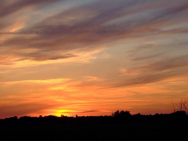 Zdjęcia: okolice klasztoru w Tyńcu, małopolska, zachód słońca, POLSKA