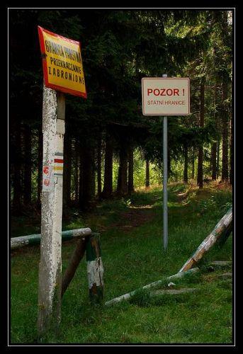 Zdjęcia: Pokrzywna, Góry Opawskie, granice, POLSKA