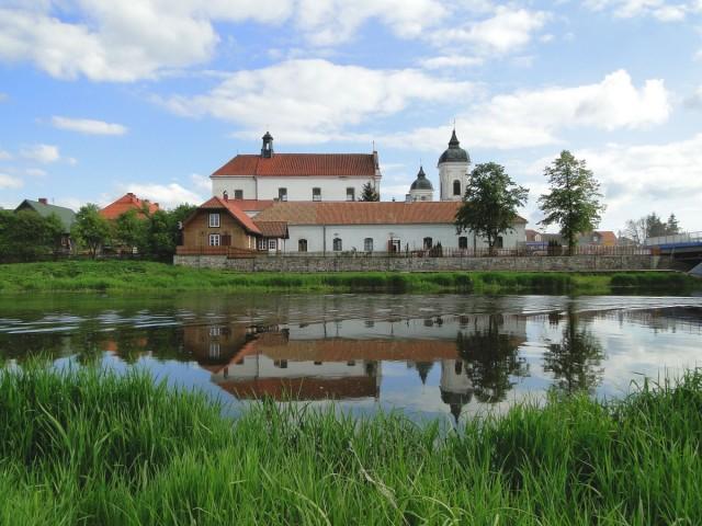 Zdjęcia: Tykocin, Podlasie, Widoczek zza rzeki., POLSKA