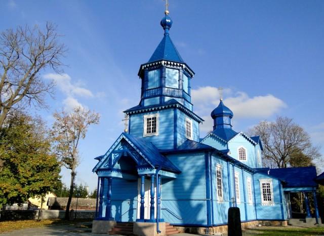 Zdjęcia: Narew, Podlasie, Z serii: obrazki z Podlasia - cerkiew we wsi Narew., POLSKA