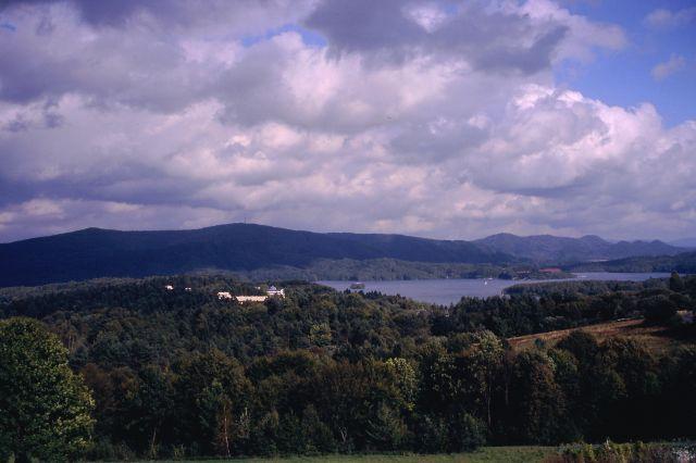 Zdjęcia: Bieszczady, Bieszczady, Widok na zalew solinski, POLSKA