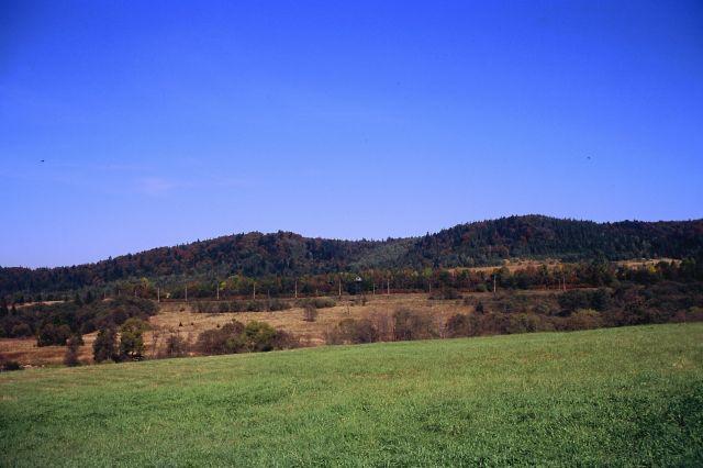Zdjęcia: Szlak do Beniowej, Bieszczady, Widok na Ukrainę, POLSKA