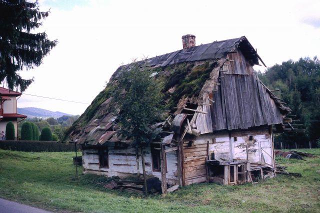 Zdjęcia: Bieszczady, Bieszczady, CHAłUPA, POLSKA