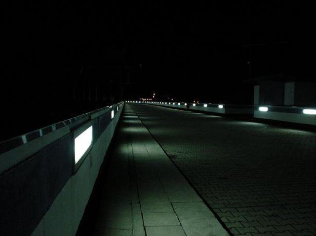 Zdjęcia: Solina, Bieszczady, Tama nad zalewem solińskim nocą, POLSKA