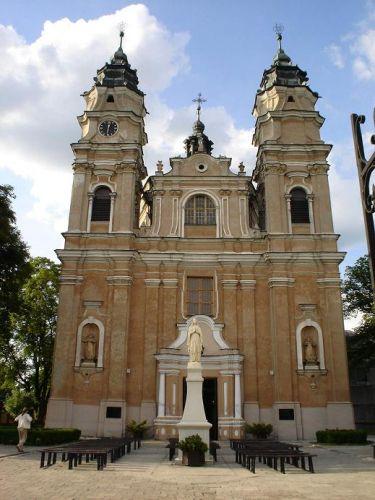 Zdjęcia: Włodawa, Województwo lubelskie, Kościół Św. Ludwika, POLSKA
