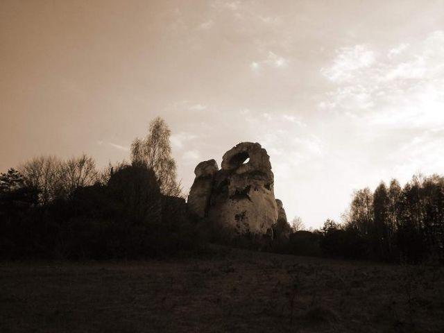 Zdjęcia: Na szlaku Orlich Gniazd, Jura Krakowsko-Częstochowska, Okiennik Wielki, POLSKA