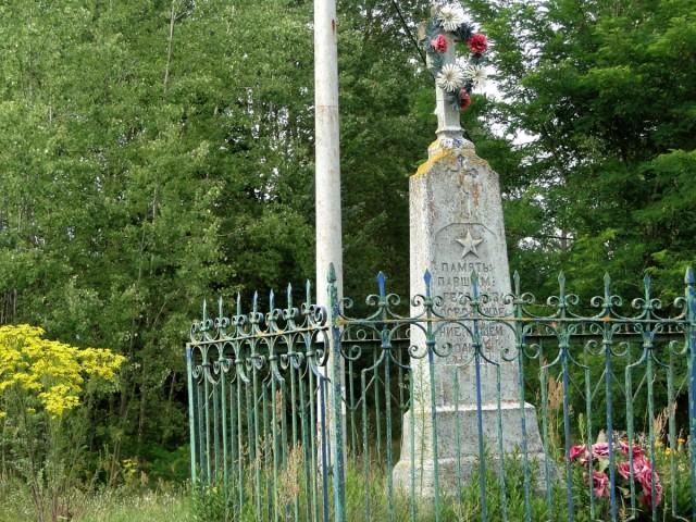 Zdjęcia: Ciełuszki, Podlasie, Podlasie -  krzyż we wsi Ciełuszki, POLSKA