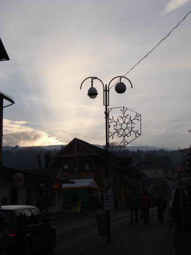 Zdjęcia: Karpacz, Karkonosze, Zachód słońca, POLSKA